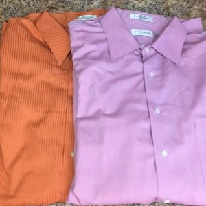 😍 2 for $10 Van Heusen dress shirts